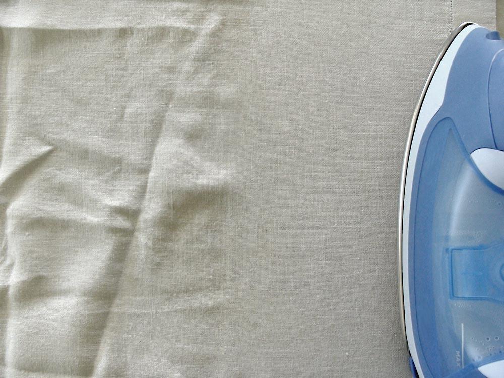Wrinkled shirt - organic innovations