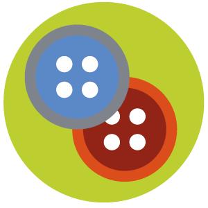 Organic-buttons