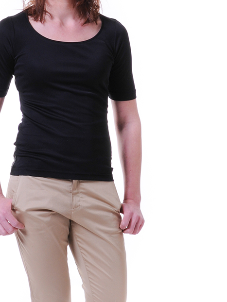Myrica WoollyBear ekologisk blus med ekologisk silke