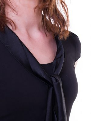 Pau-Branco WoollyBear ekologiskt blus med ekologisk silke