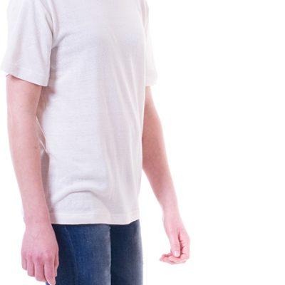 Sandwort WoollyBear ekologisk T-Shirt med ekologisk återvunnen silke