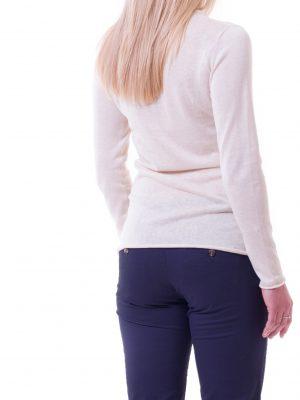 Violet WoollyBear ekologisk tröja med ekologisk silke och linne